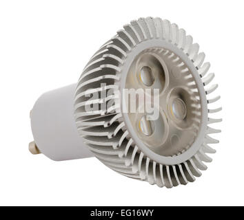 cut out image of an energy saving light bulb - Stock Photo