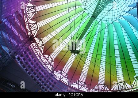 Sony Center, Berlin Germany - Stock Photo