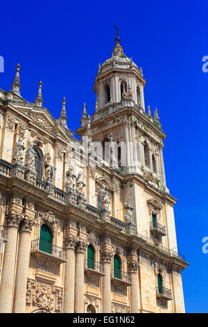 Cathedral, Jaen, Andalusia, Spain - Stock Photo
