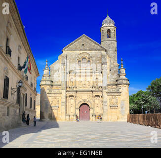 Capilla del Salvador (Redeemer Chapel, Chapel of the Saviour), Ubeda, Andalusia, Spain - Stock Photo