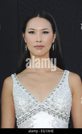 Los Angeles premiere of 'The Expendables 3' at TCL Chinese Theatre - Arrivals  Featuring: MaLana Lea Where: Los - Stock Photo