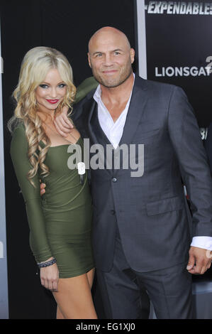 Los Angeles premiere of 'The Expendables 3' at TCL Chinese Theatre - Arrivals  Featuring: Randy Couture Where: Los - Stock Photo