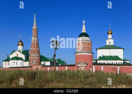 The Epiphany Old Golutvin Monastery in Kolomna, Russia - Stock Photo