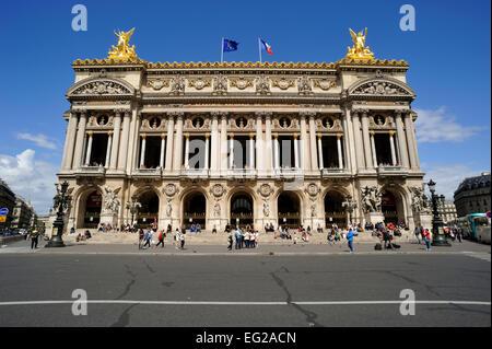 paris, opera garnier - Stock Photo