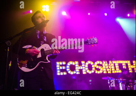 Austin, TX, USA. February 15, 2015. Jamie Sierota of American indie pop band Echosmith. © J. Dennis Thomas/Alamy - Stock Photo