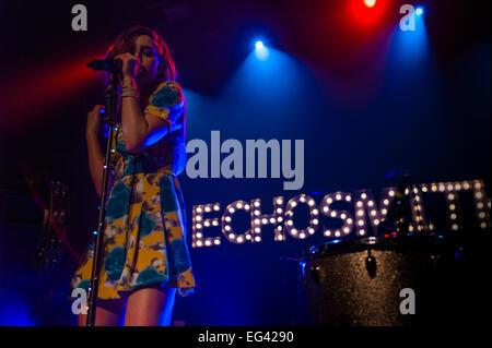 Austin, TX, USA. February 15, 2015. Sydney Sierota of American indie pop band Echosmith. © J. Dennis Thomas/Alamy - Stock Photo
