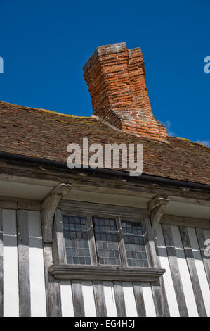 Tudor house in Margate, England - Stock Photo