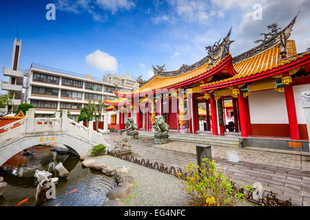 Confucius Shrine in Nagasaki, Japan - Stock Photo