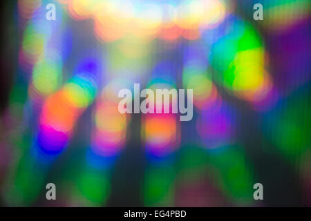 Abstract background of vivid colorful bokeh - Stock Photo
