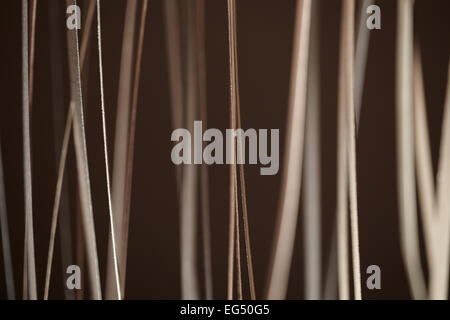 Abstract background made from a vertical stripe pattern - Stock Photo
