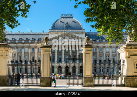 Brussels, Royal Palace - Stock Photo