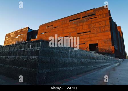 European Solidarity Center in Gdansk, Poland. - Stock Photo