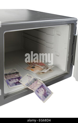 cut out image of combination safe - Stock Photo
