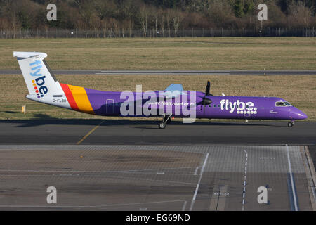flybe DHC DASH 400 - Stock Photo