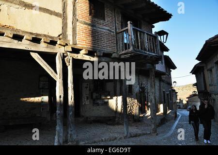 Calatañazor, mediaeval village located in Soria, Spain - Stock Photo