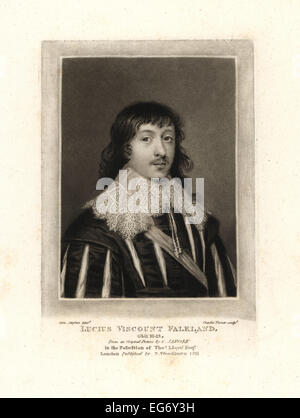 Lucius Cary, 2nd Viscount Falkland, Royalist politician and writer, died 1643. - Stock Photo