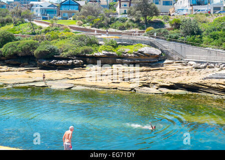 Clovelly Beach Sydney New South Wales Australia Stock