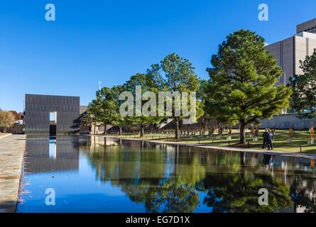 The Oklahoma City National Memorial, Oklahoma City, OK, USA - Stock Photo