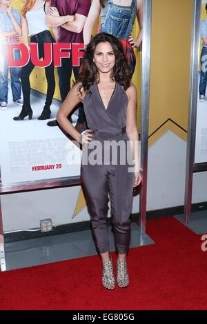 New York, NY, USA. 18th Feb, 2015. Rebecca Weil at arrivals for THE DUFF Premiere, AMC Loews Lincoln Square, New - Stock Photo