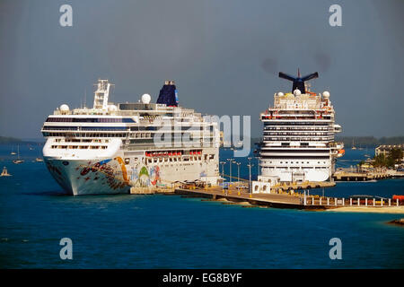 Carnival Breeze Cruise Ship In Port At San Juan Puerto Rico With - Cruise ship key west