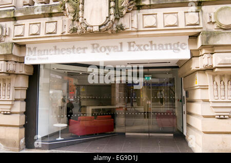 royal exchange theater manchester uk - Stock Photo