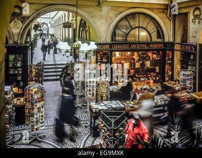 France, Paris, Galerie Vivienne. - Stock Photo