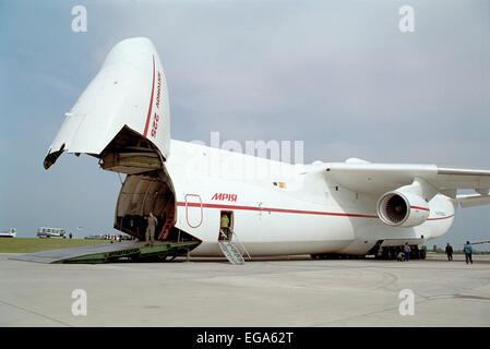 Antonov An-225 Mrya - Stock Photo