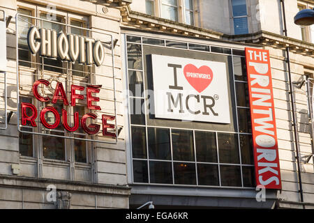 The Printworks entertainment venue in Manchester. - Stock Photo
