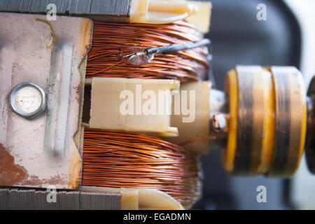 Motor from Generator wining repair - Stock Photo