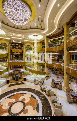 Cruise ship atrium stock photo royalty free image for Atrium design and decoration