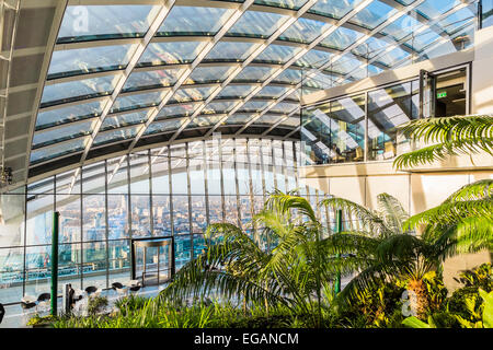 Sky Garden At 20 Fenchurch Street London The Walkie Talkie Building Stock Photo Royalty Free
