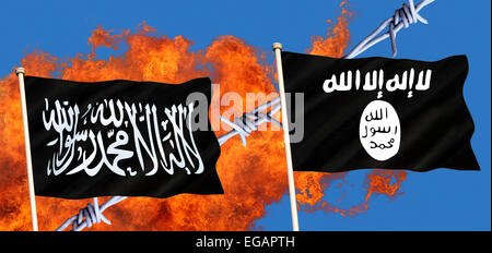 Islamic State (ISIS, IS  or ISIL) - Stock Photo