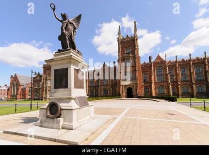 Queen's University Belfast - Stock Photo