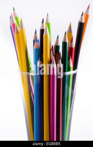 Abundance Drawing Pencil glass Pen Stand Arranging Nobody - Stock Photo