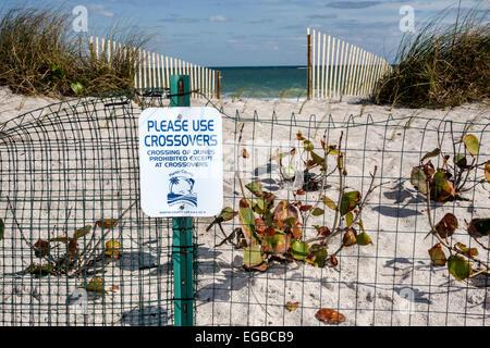 Florida, Stuart, Hutchinson Barrier Island, Ross Witham Beach, Atlantic Ocean, sightseeing visitors travel traveling - Stock Photo