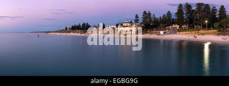 Cottesloe Beach, Perth, Western Australia at Sunset - Stock Photo
