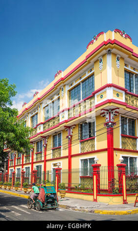 colonial house in intramuros historic area of manila philippines - Stock Photo