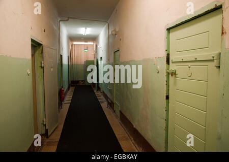 Former Soviet KGB prison, Leistikowstrasse, Potsdam, Germany - Stock Photo
