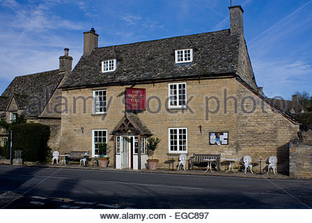 Ramsden The Royal Oak Pub Inn - Stock Photo