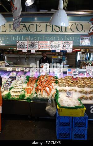 Seattle pike place fish monger farmers market washington for The fresh fish company