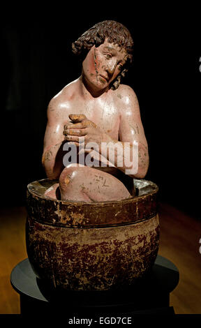Saint Vitus, Anonymous, c. 1500 ( Vitus was a 4th-century Sicilian boy who endured barbaric forms of torture after - Stock Photo