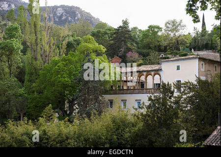 Hacienda Sa Granja near Esporles, Majorca, Spain - Stock Photo