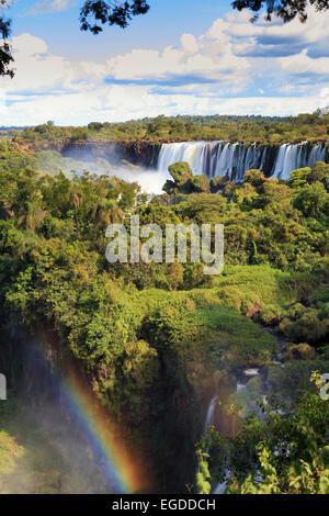 Argentina, Iguazu Falls National Park, (UNESCO Site) - Stock Photo