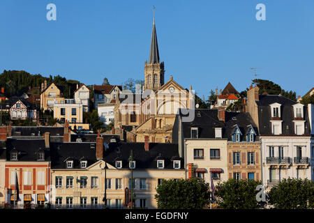 Trouville-sur-Mer, Lower Normandy, Normandy, France - Stock Photo