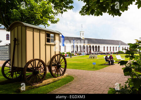 Conversation building, Norderney Island, Nationalpark, North Sea, East Frisian Islands, East Frisia, Lower Saxony, - Stock Photo