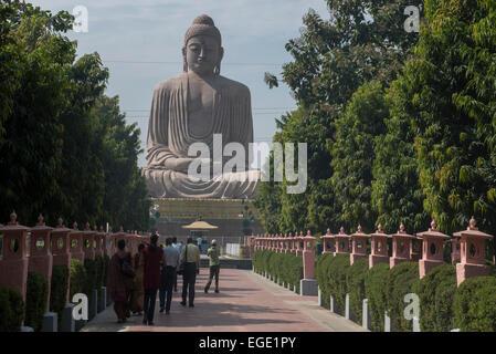 The Great Buddha Statue, Bodhgaya - Stock Photo
