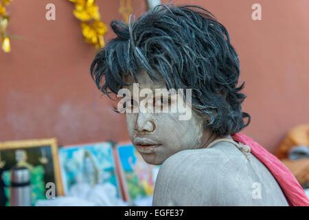 Young Sadhu, Shivratri, Bhavnath Mela - Stock Photo