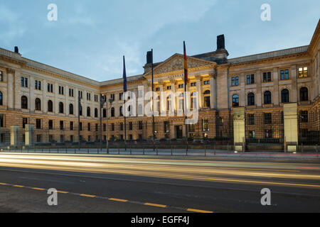 German Bundesrat building on Leipziger Strasse (the former Prussian House of Lords), Berlin, Germany - Stock Photo
