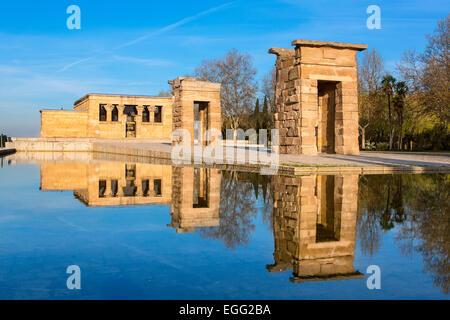 Madrid, Temple of Debod - Stock Photo
