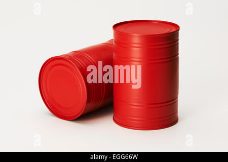 Oil Drums - Stock Photo